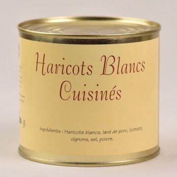 Haricots blancs cuisinés - 600g