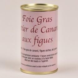 Spécialité de foie gras de canard entier aux figues - 190g