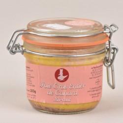 Foie gras de canard entier mi-cuit - 200g