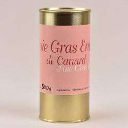 Foie gras de canard entier mi-cuit - 580g