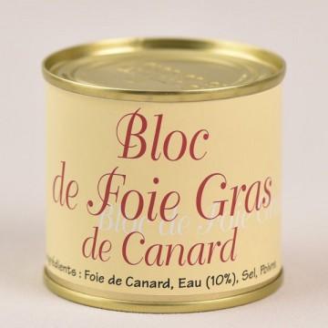 Bloc de foie gras de canard - 90g
