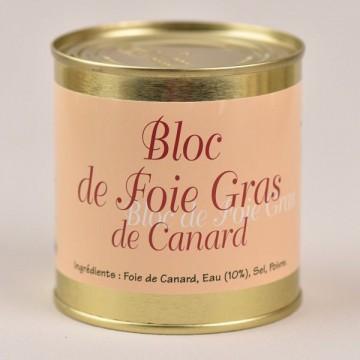 Bloc de foie gras de canard - 260g