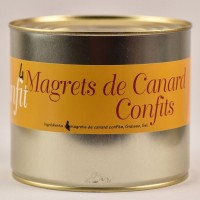 Confit de canard Tradition - 4 magrets - 2000g