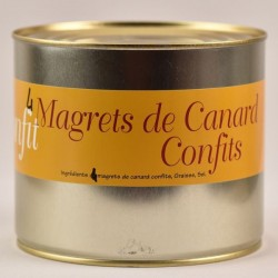 Confit de canard Tradition - 4 magrets - 2000g