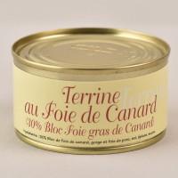 Pâté au foie de canard - 30% bloc de foie gras - 140g