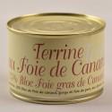 Terrine au foie de canard - 25% bloc de foie gras - 240g